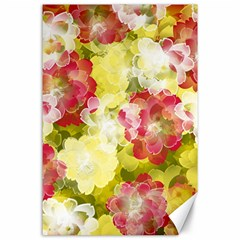 Flower Power Canvas 24  X 36