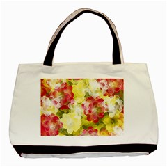 Flower Power Basic Tote Bag (two Sides) by designworld65