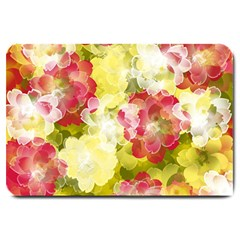 Flower Power Large Doormat