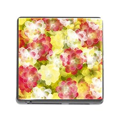 Flower Power Memory Card Reader (square)
