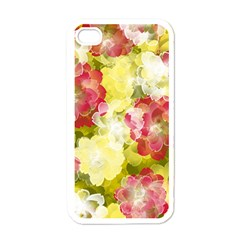 Flower Power Apple Iphone 4 Case (white)