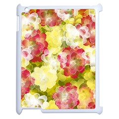 Flower Power Apple Ipad 2 Case (white) by designworld65