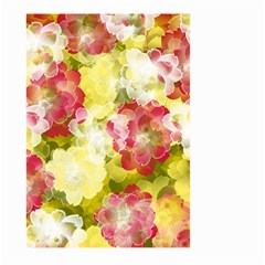 Flower Power Large Garden Flag (two Sides) by designworld65
