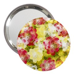 Flower Power 3  Handbag Mirrors