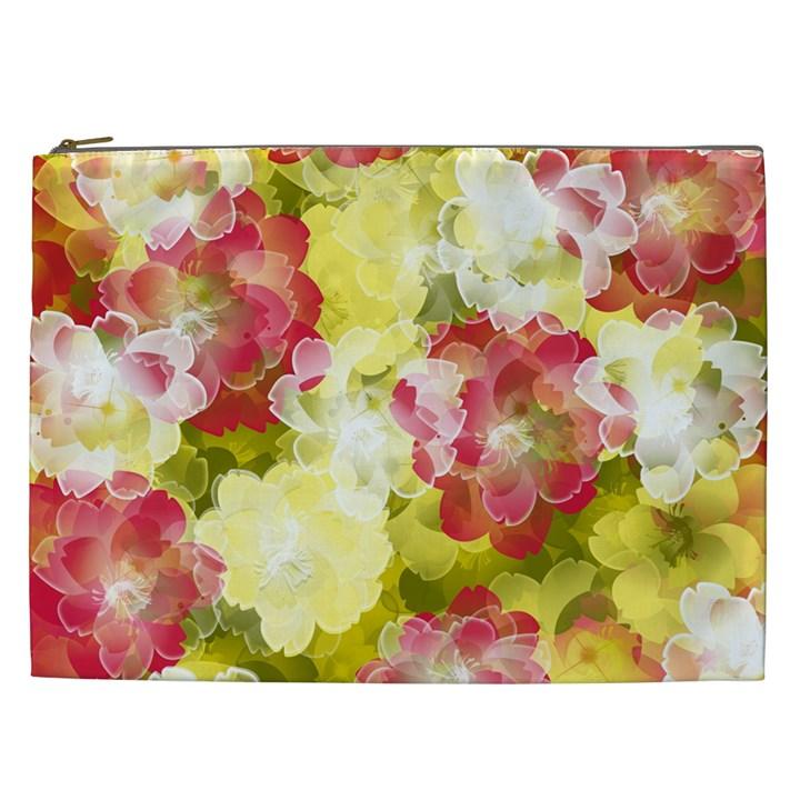 Flower Power Cosmetic Bag (XXL)