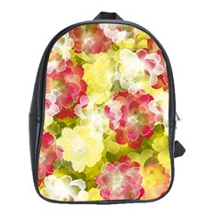 Flower Power School Bag (xl)