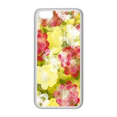 Flower Power Apple Iphone 5c Seamless Case (white) by designworld65