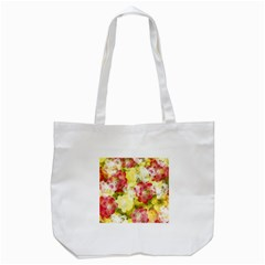 Flower Power Tote Bag (white) by designworld65