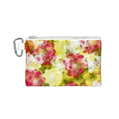 Flower Power Canvas Cosmetic Bag (s) by designworld65