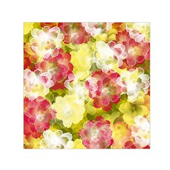 Flower Power Small Satin Scarf (square)