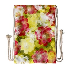 Flower Power Drawstring Bag (large)