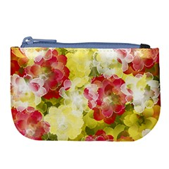 Flower Power Large Coin Purse