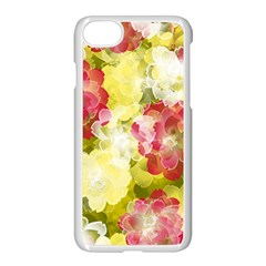 Flower Power Apple Iphone 7 Seamless Case (white)
