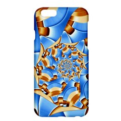 Gold Blue Bubbles Spiral Apple Iphone 6 Plus/6s Plus Hardshell Case