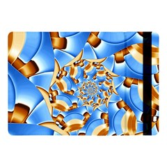 Gold Blue Bubbles Spiral Apple Ipad Pro 10 5   Flip Case by designworld65