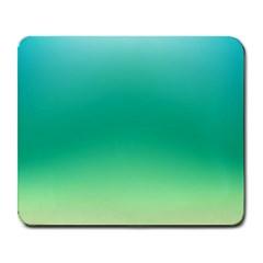 Sealife Green Gradient Large Mousepads by designworld65