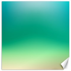 Sealife Green Gradient Canvas 20  X 20   by designworld65