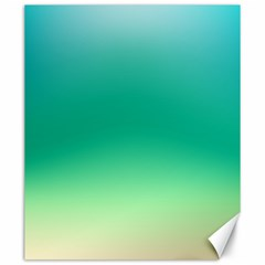 Sealife Green Gradient Canvas 20  X 24