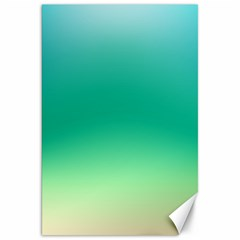 Sealife Green Gradient Canvas 20  X 30