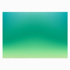 Sealife Green Gradient Large Glasses Cloth