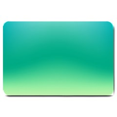 Sealife Green Gradient Large Doormat