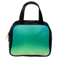 Sealife Green Gradient Classic Handbags (one Side)