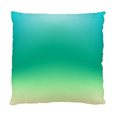 Sealife Green Gradient Standard Cushion Case (two Sides)