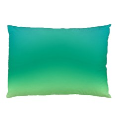 Sealife Green Gradient Pillow Case