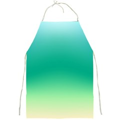 Sealife Green Gradient Full Print Aprons