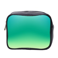 Sealife Green Gradient Mini Toiletries Bag 2 Side