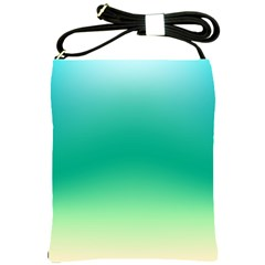 Sealife Green Gradient Shoulder Sling Bags