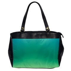 Sealife Green Gradient Office Handbags