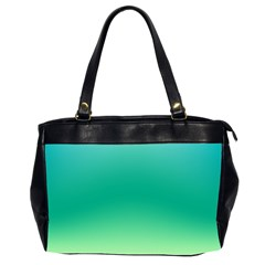 Sealife Green Gradient Office Handbags (2 Sides)