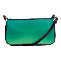 Sealife Green Gradient Shoulder Clutch Bags