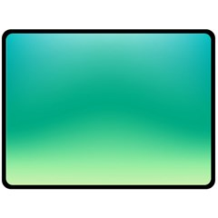 Sealife Green Gradient Fleece Blanket (large)