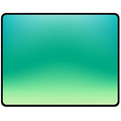 Sealife Green Gradient Fleece Blanket (medium)