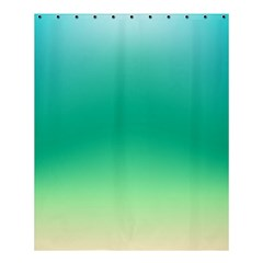 Sealife Green Gradient Shower Curtain 60  X 72  (medium)
