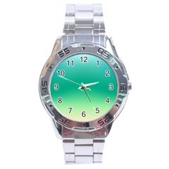 Sealife Green Gradient Stainless Steel Analogue Watch