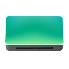 Sealife Green Gradient Memory Card Reader With Cf