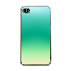 Sealife Green Gradient Apple Iphone 4 Case (clear) by designworld65