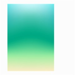Sealife Green Gradient Small Garden Flag (two Sides)