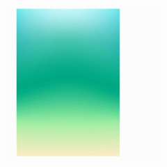 Sealife Green Gradient Large Garden Flag (two Sides)