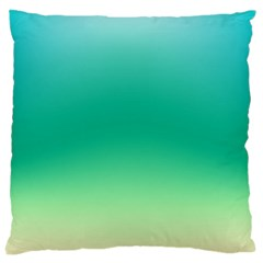 Sealife Green Gradient Large Cushion Case (one Side) by designworld65