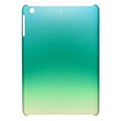 Sealife Green Gradient Apple Ipad Mini Hardshell Case by designworld65