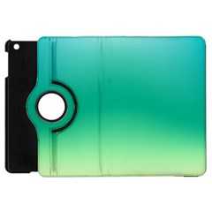Sealife Green Gradient Apple Ipad Mini Flip 360 Case by designworld65