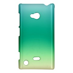 Sealife Green Gradient Nokia Lumia 720 by designworld65