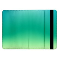 Sealife Green Gradient Samsung Galaxy Tab Pro 12 2  Flip Case by designworld65