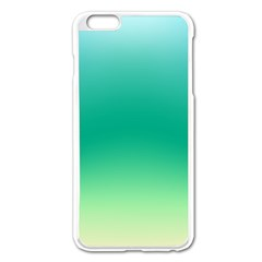Sealife Green Gradient Apple Iphone 6 Plus/6s Plus Enamel White Case by designworld65