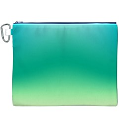 Sealife Green Gradient Canvas Cosmetic Bag (xxxl) by designworld65