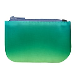 Sealife Green Gradient Large Coin Purse by designworld65